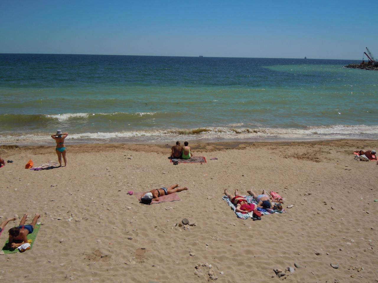 Отдых в ильичевске фото пляжа
