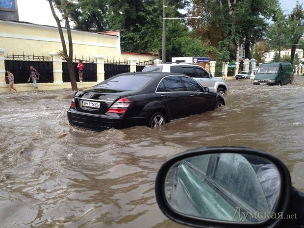 Из-за проливных дождей в оккупированном Крыму подтоплены улицы, частные дома и дворы - Цензор.НЕТ 8297