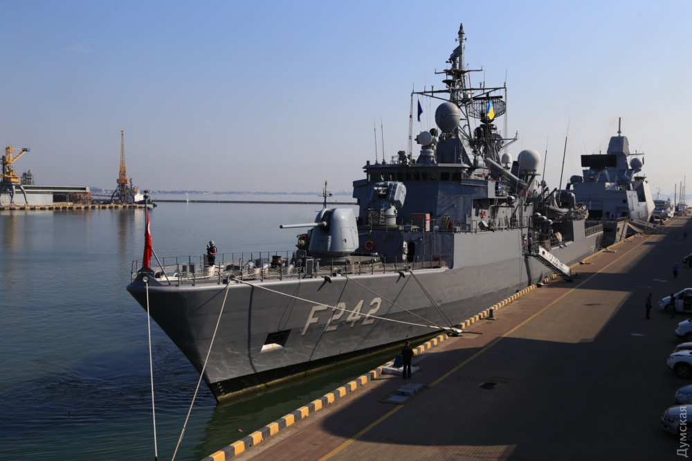 """Турецкий фрегат """"Фатих"""""""