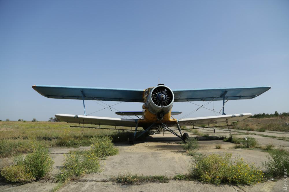 Бывший военный аэродром в Лиманском