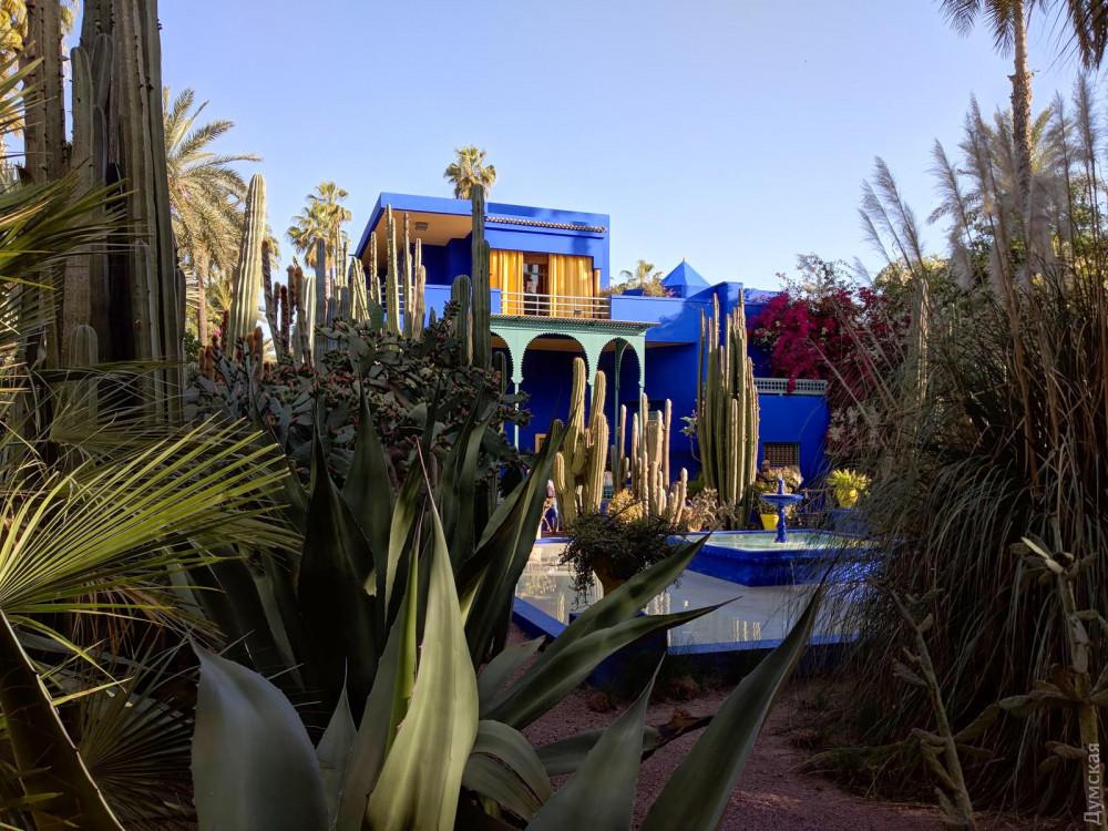Вилла Мажореля посреди роскошного сада уже сто лет вдохновляет людей искусства