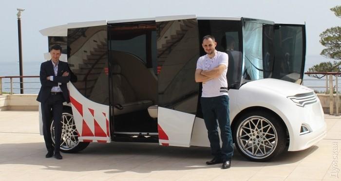 Первый украинский электромобиль презентован в Монако - Цензор.НЕТ 9534