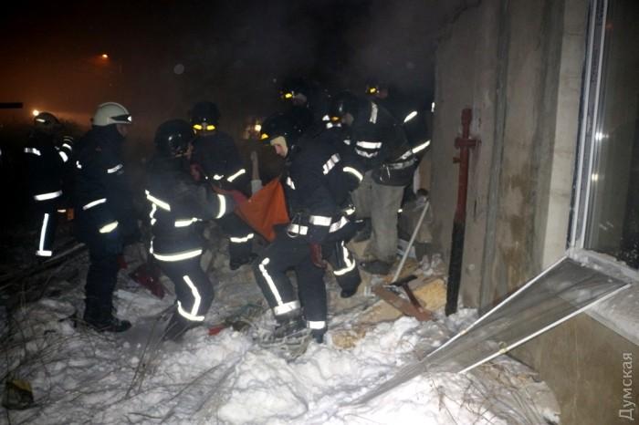 Боевики «Правого сектора» взорвали дом при попытке сделать бомбу