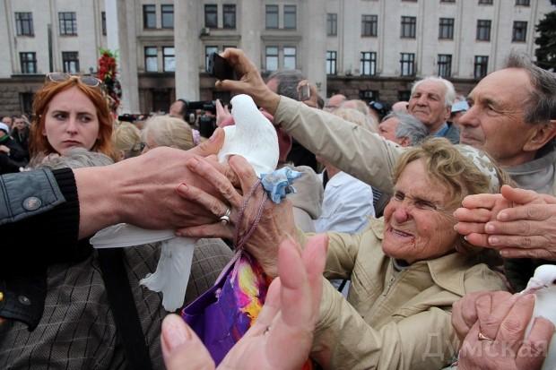 40 кадров: как одесситы поминали погибших 2 мая на Куликовом, фото-33