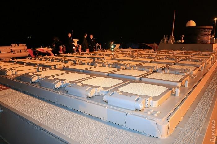 Те самые шахтные пусковые установки, из которых был нанесен ракетный удар по сирийцам