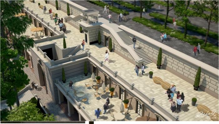 Новий проект Грецького парку: зі скульптурами і деревами, але без магазинів