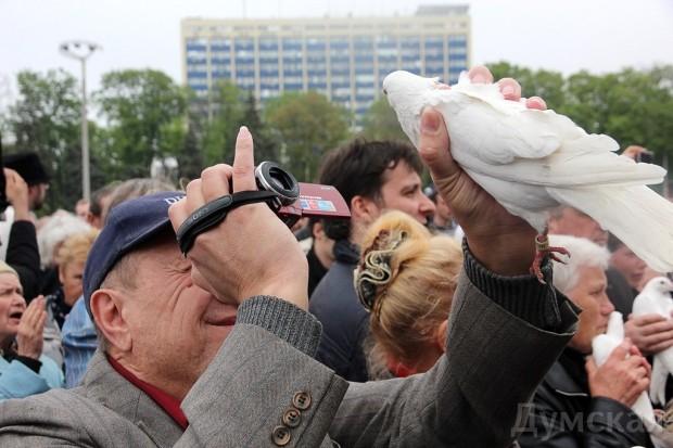 40 кадров: как одесситы поминали погибших 2 мая на Куликовом, фото-34