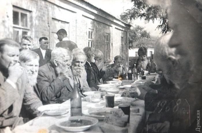 Застолья в селе в советские времена