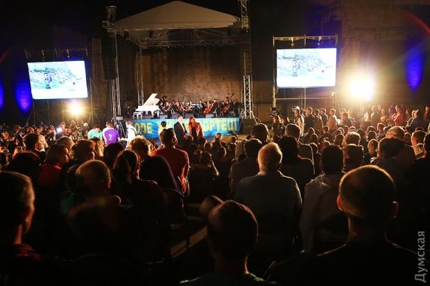 В Акерманской крепости прошел концерт с участием известной пианистки