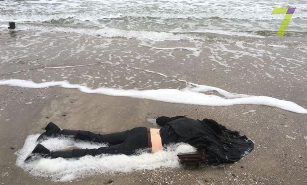 На одесском побережье было найдено тело женщины (фото)
