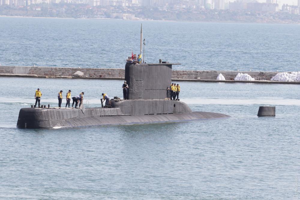 Маленькая, но удаленькая. Yildiray недавно потопила из подводного положения танкер