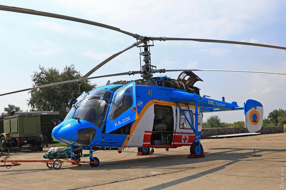 Медицинский вертолет Ка-226