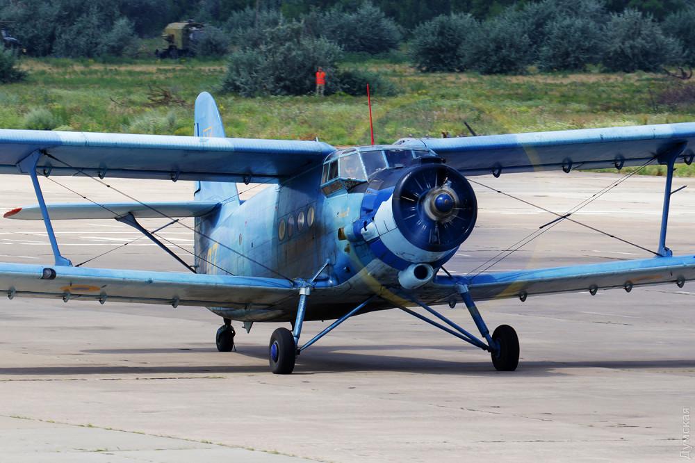 Ан-2 Сакской бригады - единственный самолет этого типа в ЗСУ