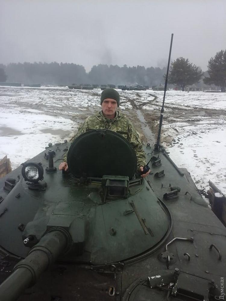 Солдат из Одесской области умер на фронте во время артобстрела