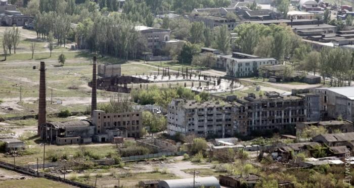 Бывший ЗОР. Брошенное строительство баскетбольной арены