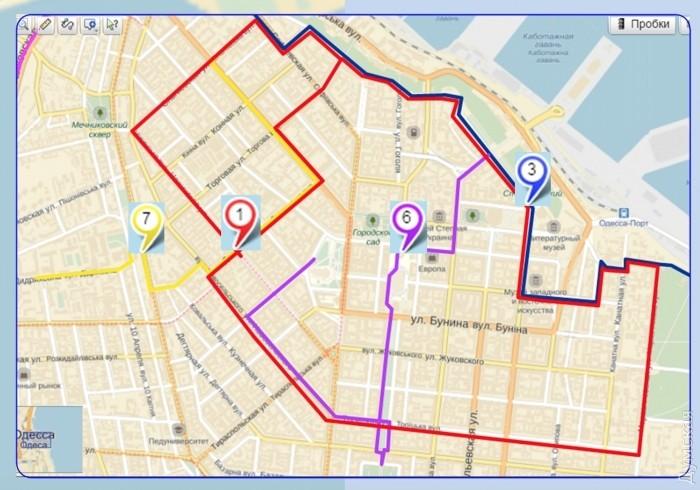 Карта будущих велодорожек с <a  data-cke-saved-href=http://omr.gov.ua/ru/announce/69489/ href=http://omr.gov.ua/ru/announce/69489/>сайта мэрии</a>.