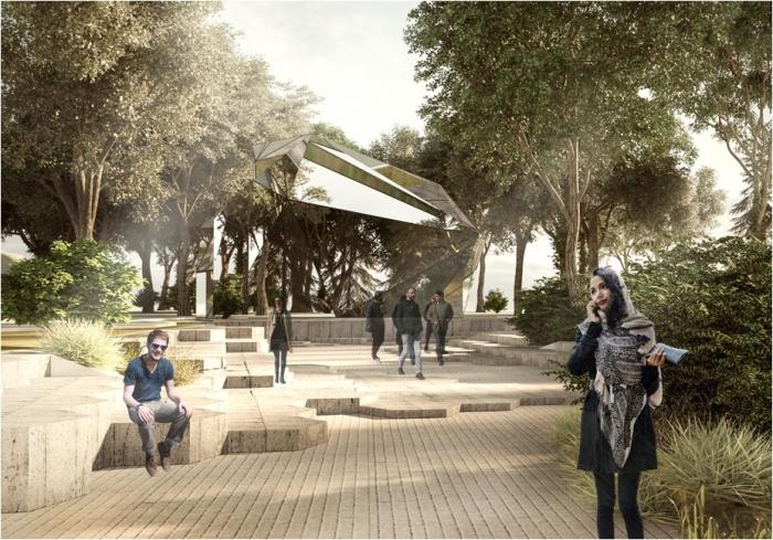 Новый проект Греческого парка: со скульптурами и деревьями, но без магазинов