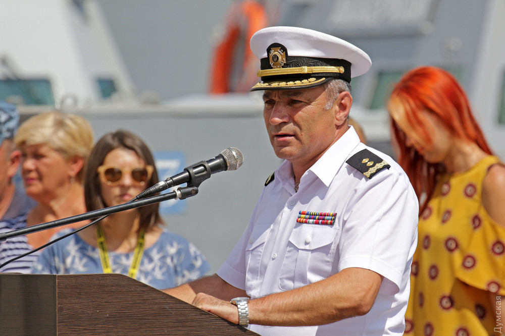 Командующий ВМСУ стал полным адмиралом