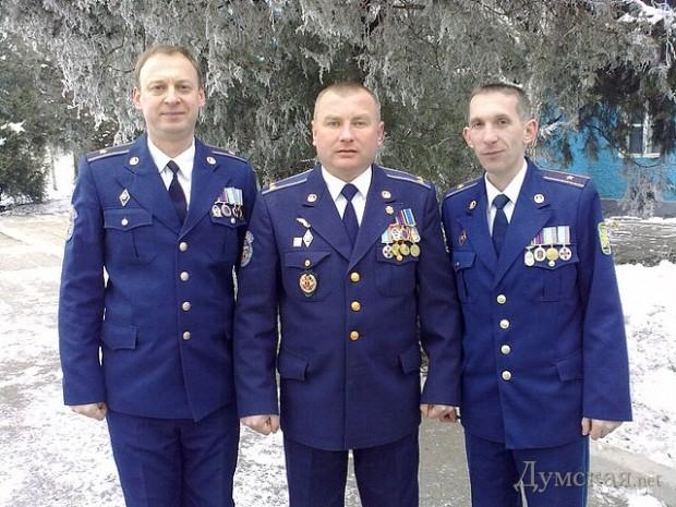 Борис Кифоренко - в центре