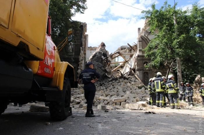 В Одесі обвалився Масонський дім