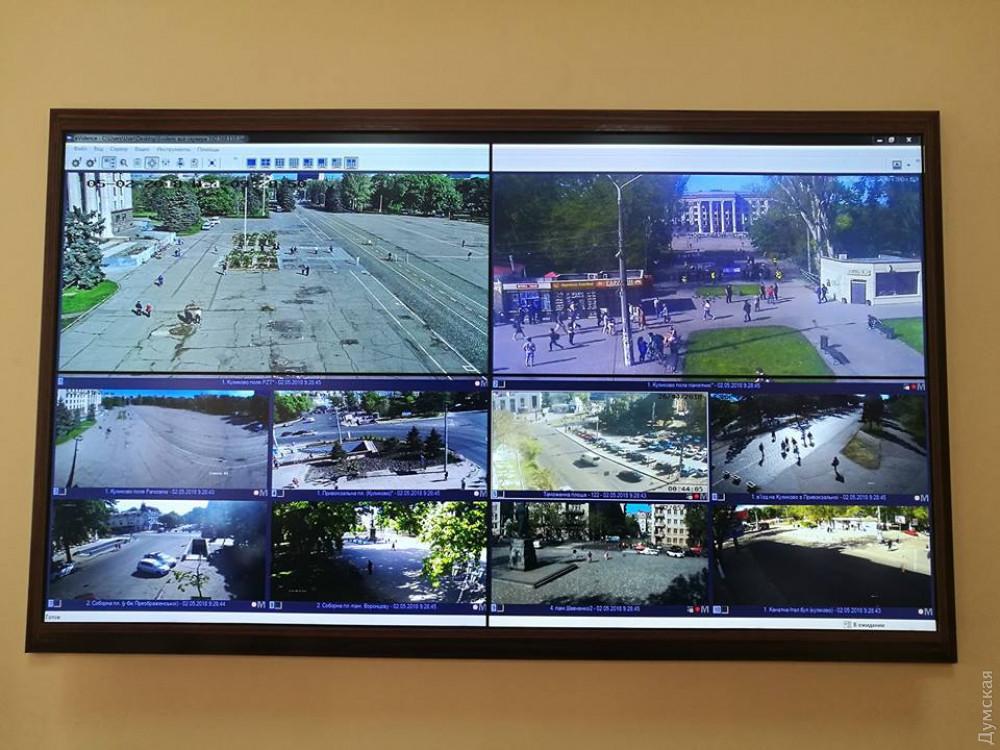 За происходящем на улице наблюдают в ситуационном центре ГУНП