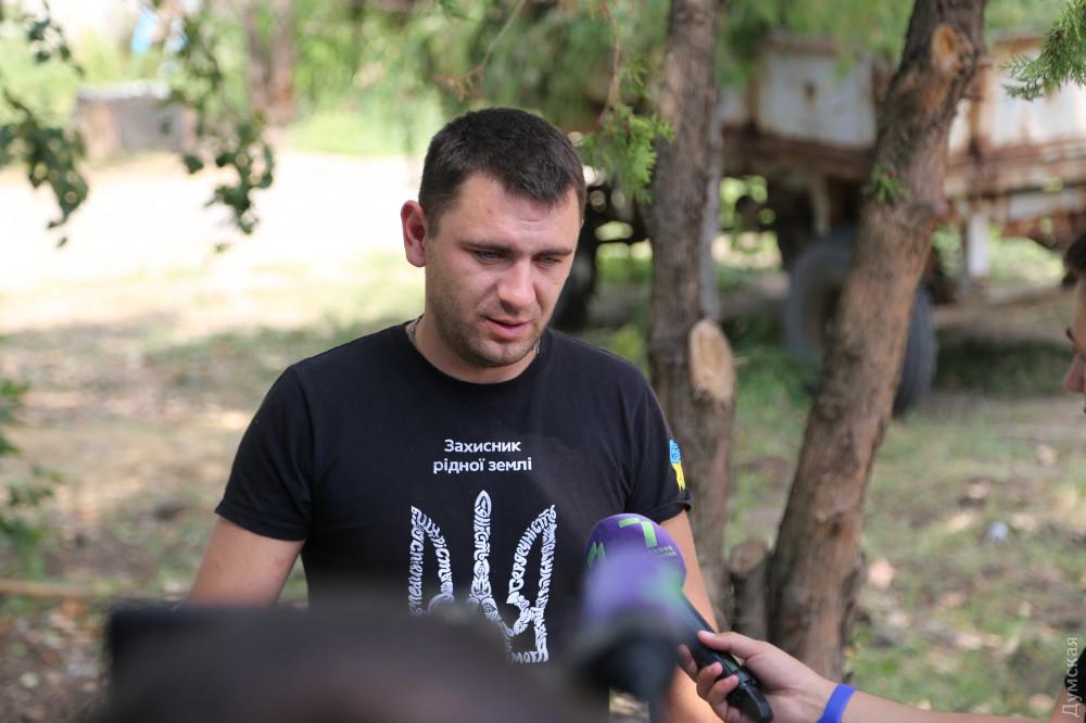 Морской пехотинец Максим Биднык
