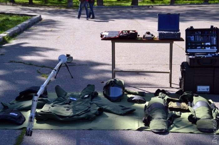 Оборудование полицейских взрывотехников