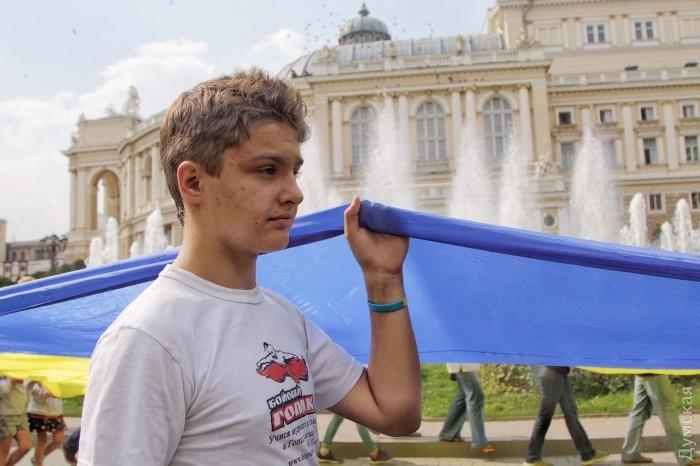 Марш в вышиванках прошел в центре Одессы - Цензор.НЕТ 9272