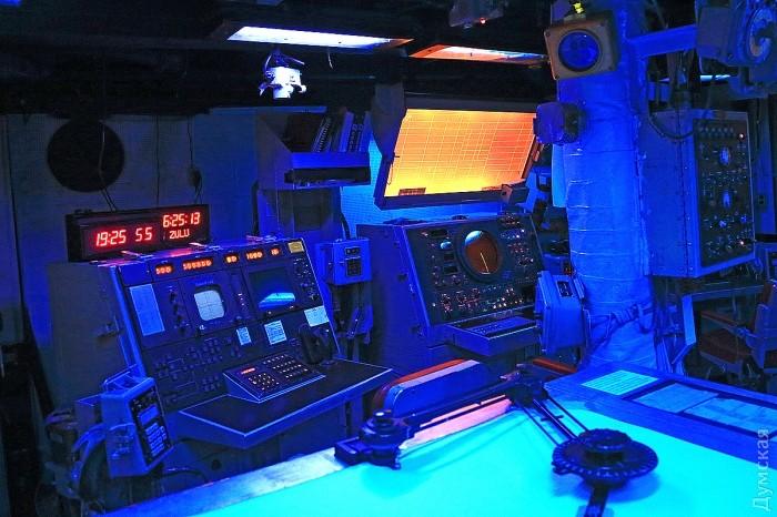 В этой части информационного центра отслеживают и сопровождают воздушные цели