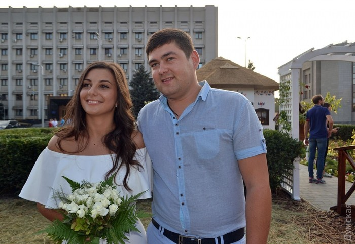 Молодожены Павел и Юлия Кузьминчук