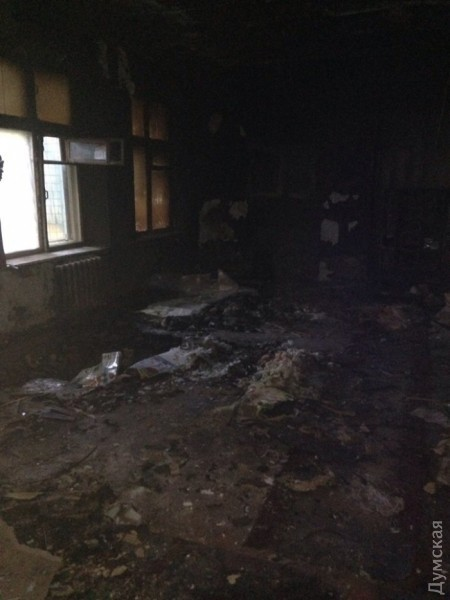 В Одессе подожгли детский сад