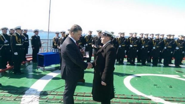 picturepicture_62209504115746_28640 Порошенко: «Украина была, есть и будет морской державой»