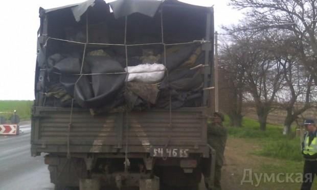 Одесский «Шторм» задержал подозрительный грузовик со «списанным» военным имуществом, фото-6