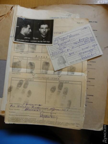 Ефим Абрамович был следователем одесского УНКВД и лично выбивал из людей признания
