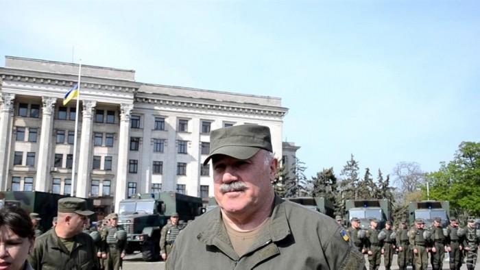 Заместитель командующего Национальной Гвардии Украины по общественной безопасности Валерий Рудницкий