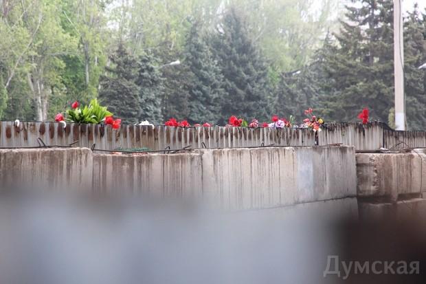 40 кадров: как одесситы поминали погибших 2 мая на Куликовом, фото-22