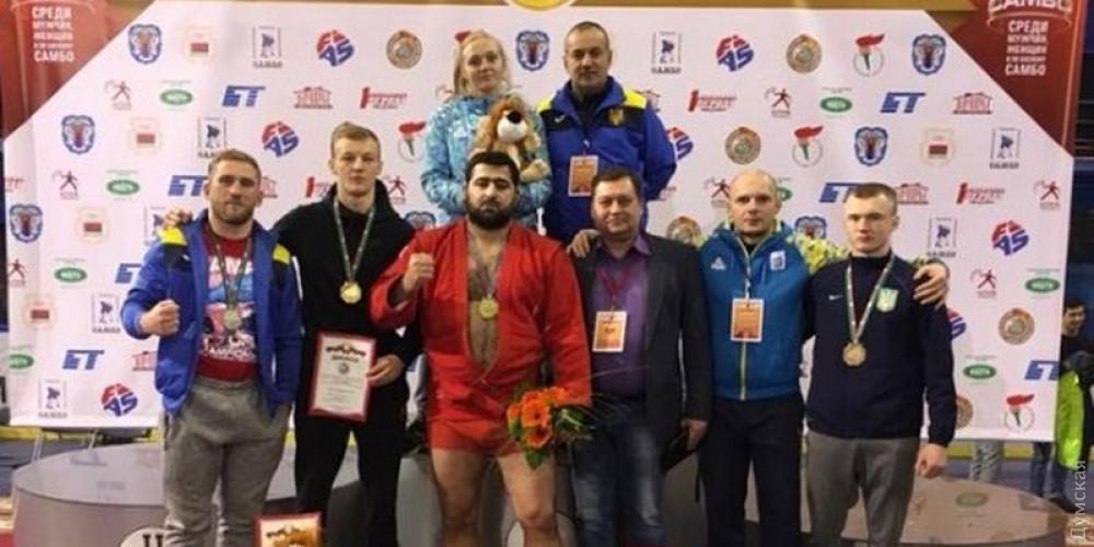 Одесский самбист завоевал золото в Беларуси