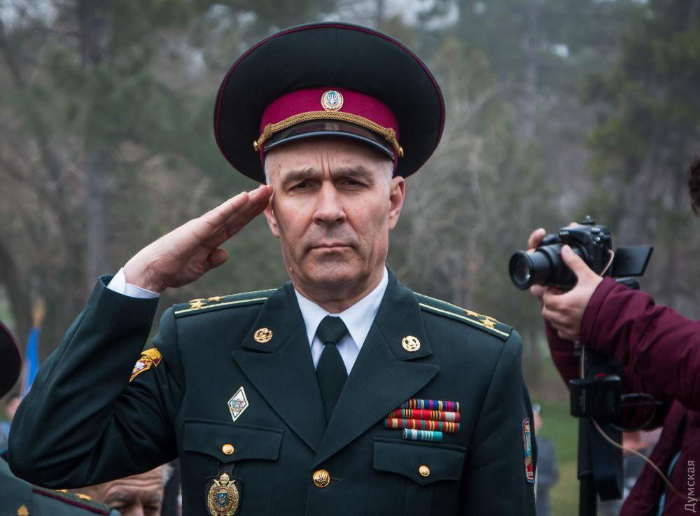 Олег Лобан, военный комиссар Приморского района Одессы