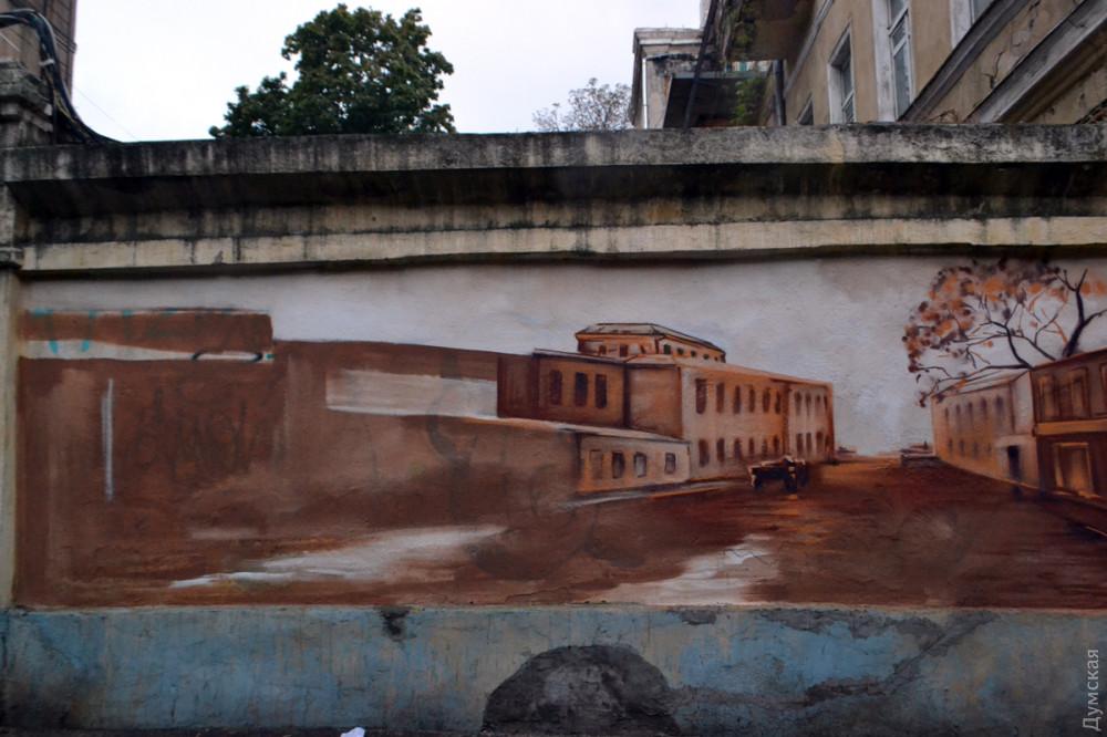 В переулке в центре Одессы появится еще один мурал