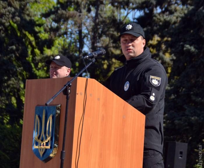 Начальник ГУНП в Одесской области Дмитрий Головин