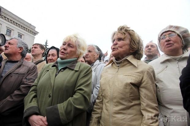 40 кадров: как одесситы поминали погибших 2 мая на Куликовом, фото-23