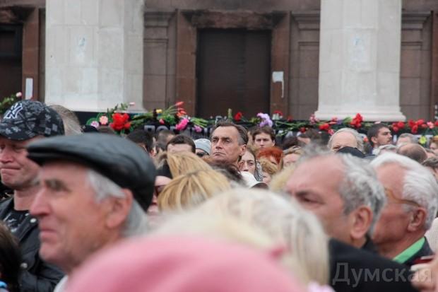 40 кадров: как одесситы поминали погибших 2 мая на Куликовом, фото-30