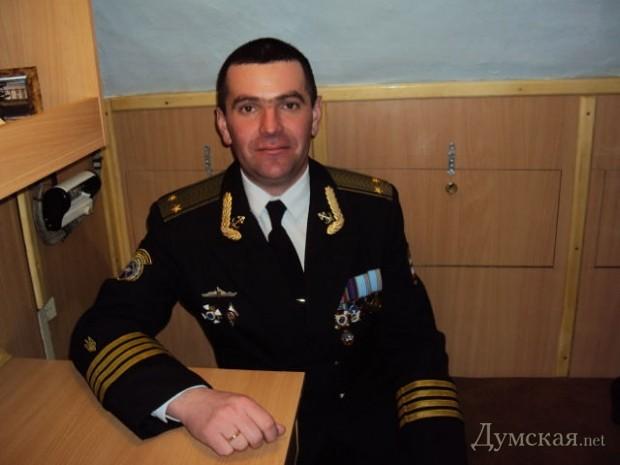 """Командир """"Запорожья"""" Роберт Шагеев. Сдал лодку без единого выстрела, а сейчас служит оккупанту"""
