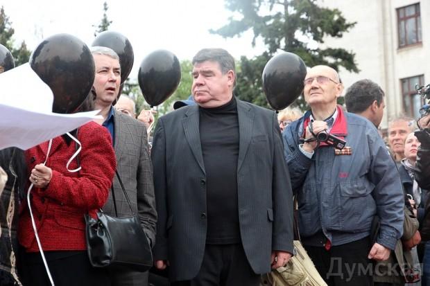 Сергей Бовбалан и Григорий Кваснюк георгиевские ленты решили не надевать