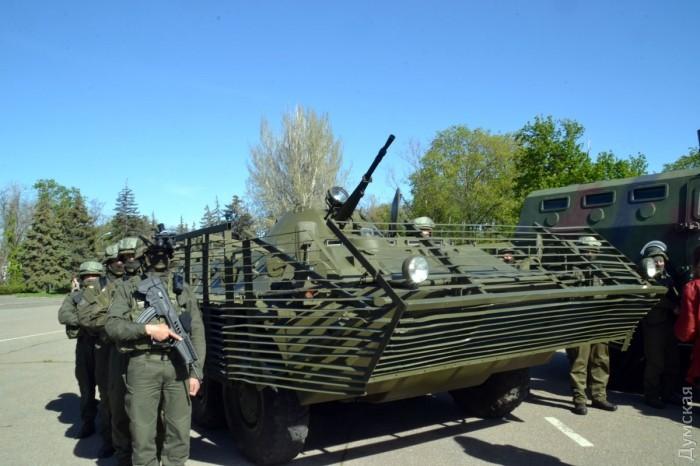 У бойцов автомат Форт-221