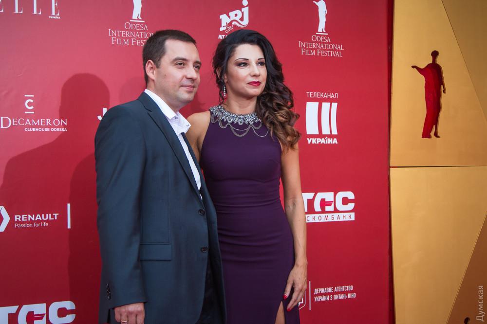 Секретарь горсовета Алексей Потапский с женой