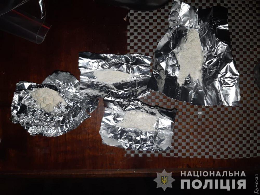 В Одессе задержали наркодилера с 500 дозами амфетамина