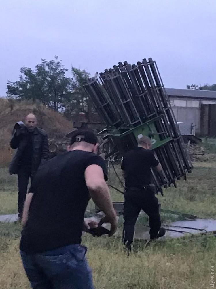 Одессит прятал в схроне арсенал ракет