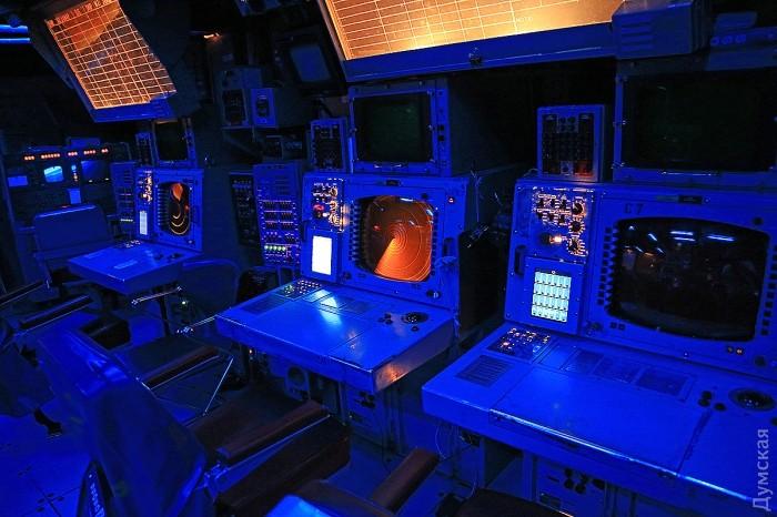 """Самое секретное место на корабле - боевой информационный центр """"Иджис"""""""