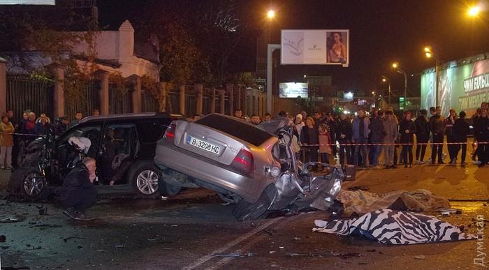 Жуткое ДТП в Одессе: 6 человек погибли, 2 пострадали - Цензор.НЕТ 9499